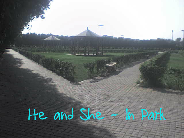 He and She - In Park