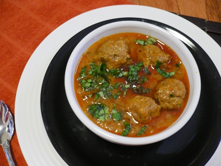 kofta-curry
