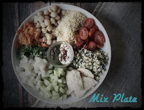 mix plate