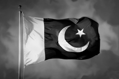 black-pakistan-flag