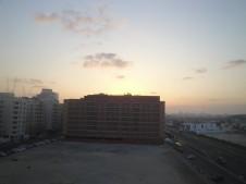 A sunrise in Dubai